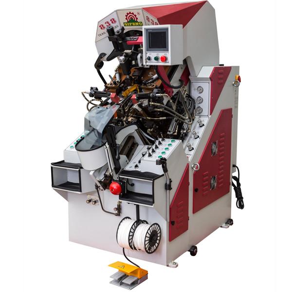 前帮机 油压电脑控制自动上胶前帮机 东莞前帮机