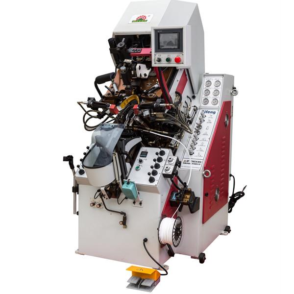 液压前帮机 油压电脑控制自动上胶前帮机 广东前帮机