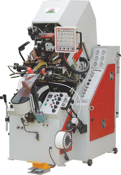 结帮机 油压电脑控制自动上胶前帮机 前帮机操作视频